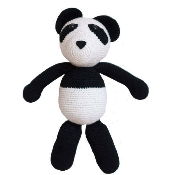 Bao the Panda - Hand-knitted with Organic Cotton