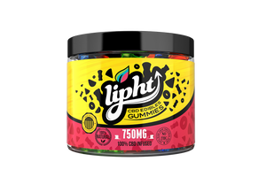 Lipht CBD Gummies Jar 750mg - Bears