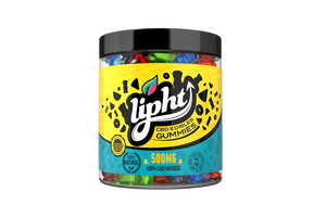 Lipht CBD Gummies Jar 500mg - Bears
