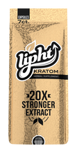 Lipht Kratom Gold Extract Capsules