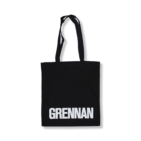GRENNAN BLACK TOTE BAG