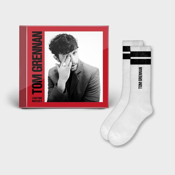Lighting Matches Signed Deluxe CD + Socks