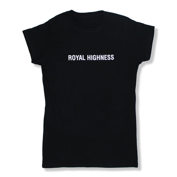 ROYAL HIGHNESS BLACK T-SHIRT