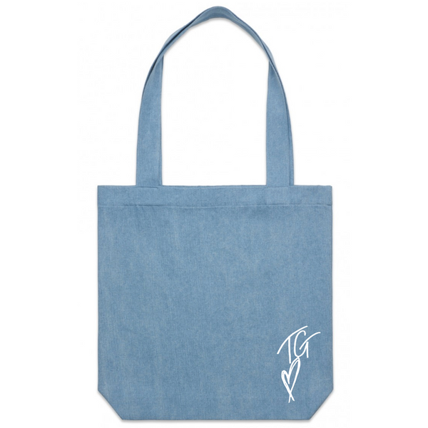 GRENNAN DENIM TOTE BAG