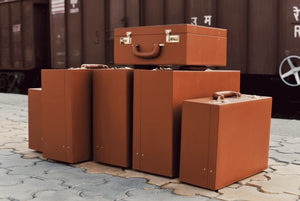 Classic Leather Trunk- Small