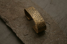 Hammered Palm Cuff