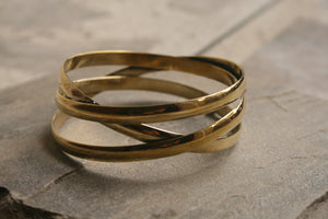 Three Bangle Bracelet
