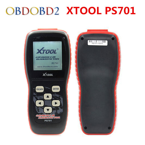 100% Original Xtool PS701 Professional Diagnostic Tool OBD2 For Japanese Cars JP Diagnostic Tool PS 701 Free Update Online