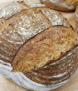 Whole Grain Sourdough Boule