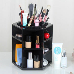 360 Degree Rotate Makeup Organizer