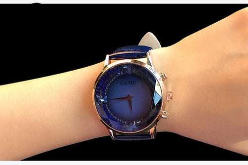 Lady Watch Rhinestone