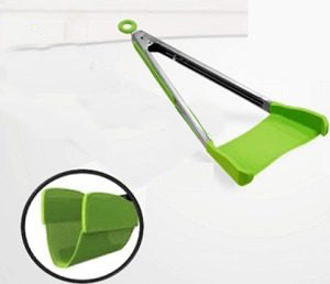 Clever Tongs 2-in-1 Kitchen Helper