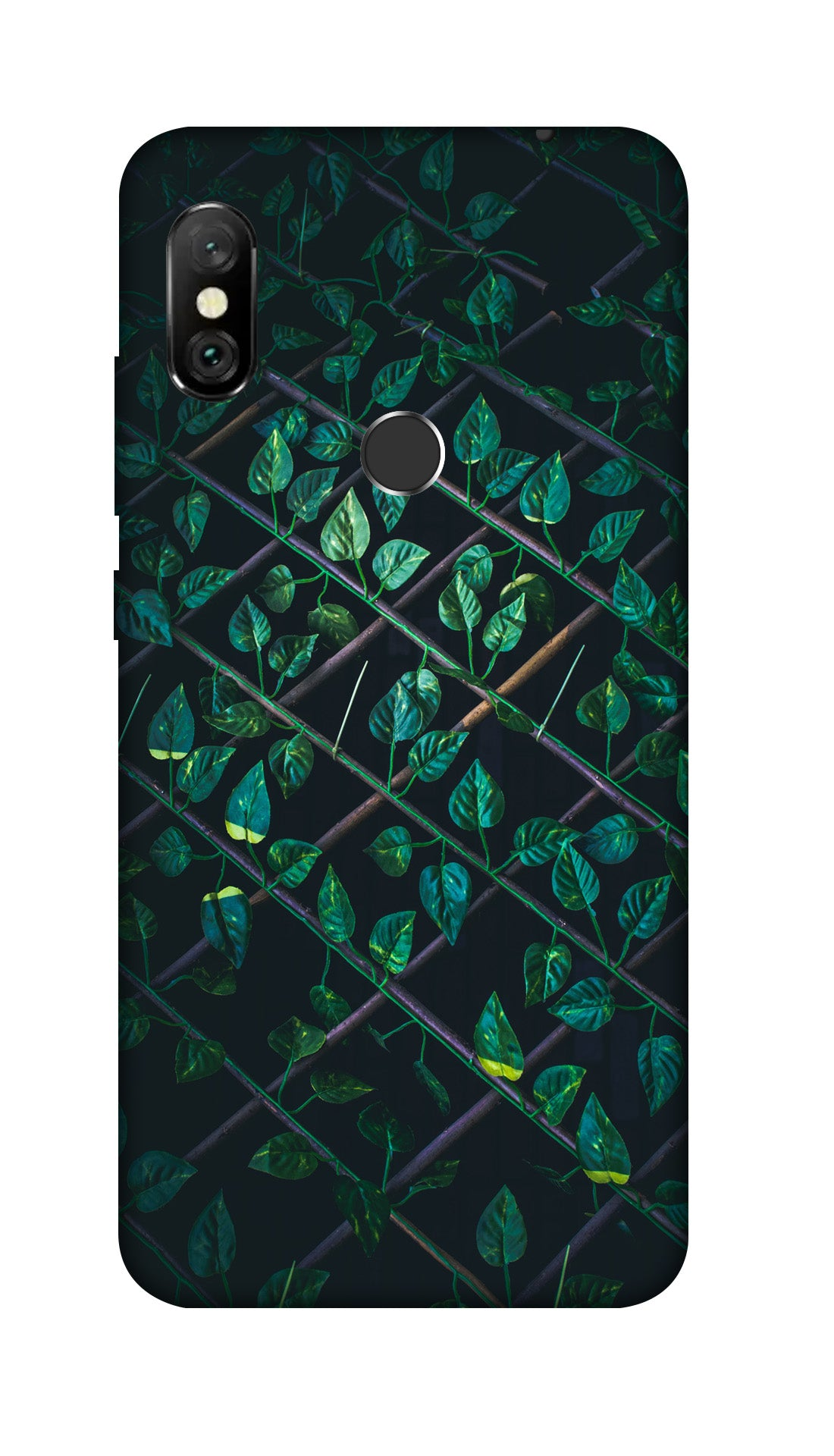 Leaves Hard Case Cover For Redmi Note 6 Pro