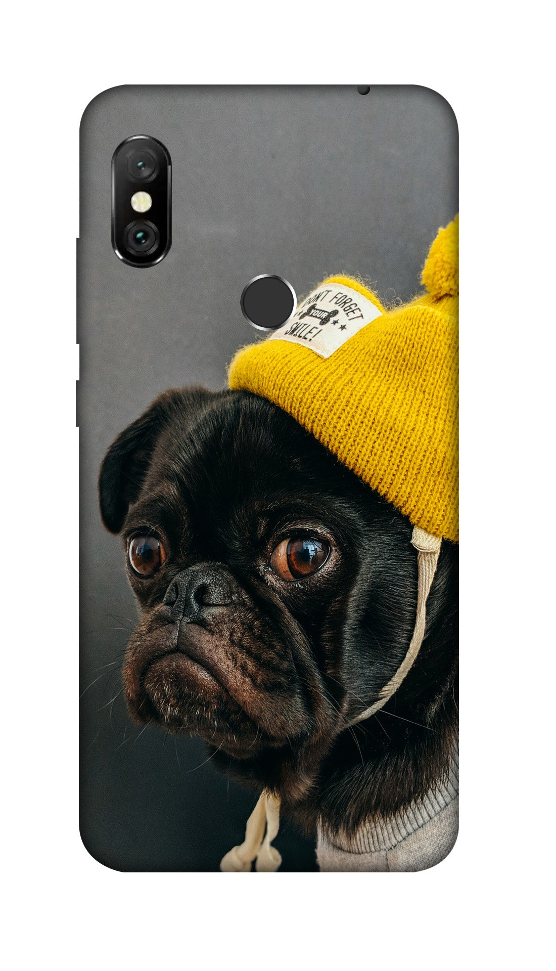 Cutty Dog Hard Case Cover For Redmi Note 6 Pro