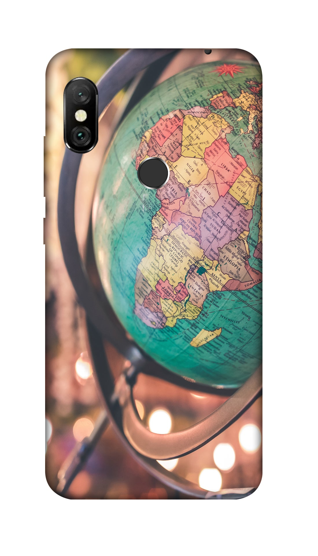 Globe hard case cover for Redmi Note 6 Pro