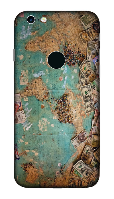 Map&Dollars hard case cover for Apple iPhone 6S