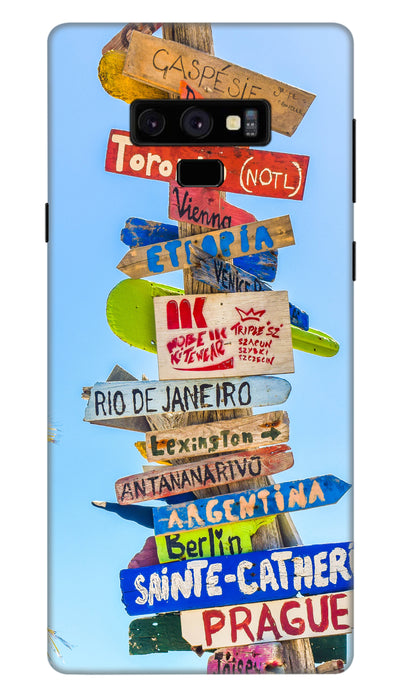 Directions hard case cover for Samsung Note 9