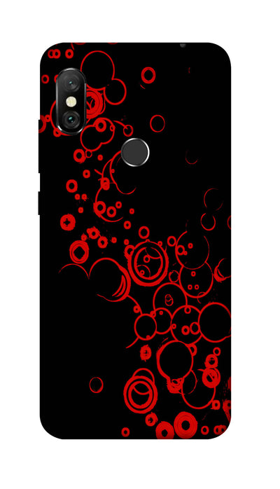 Black & red combo Hard Case For Redmi 6 Pro