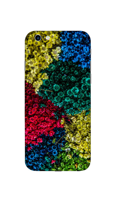 Colouful flowers Hard Case For Apple iPhone 6S