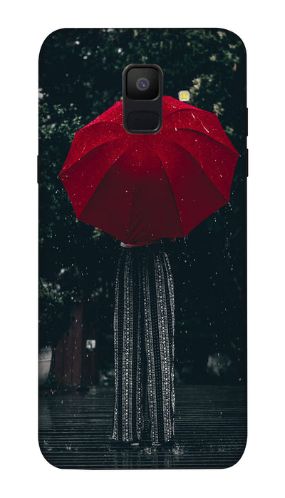 Umbrella girl Hard Case For Samsung A6