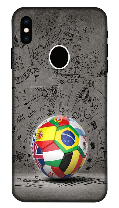 world football Hard Case For Apple iPhone XS