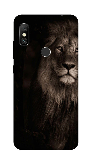 Angry Lion Hard Case For Redmi 6 Pro