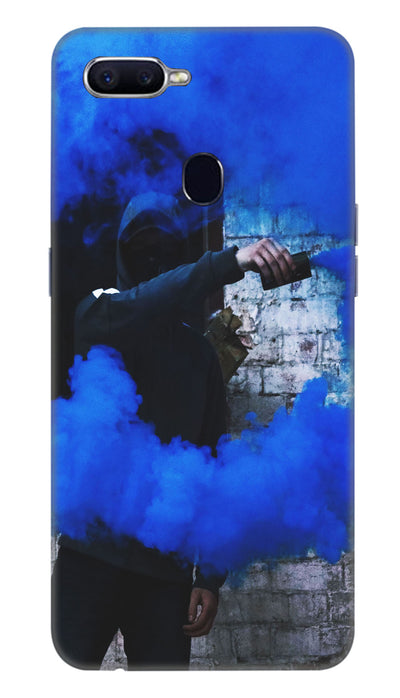 Smoke man Hard Case For Oppo F9