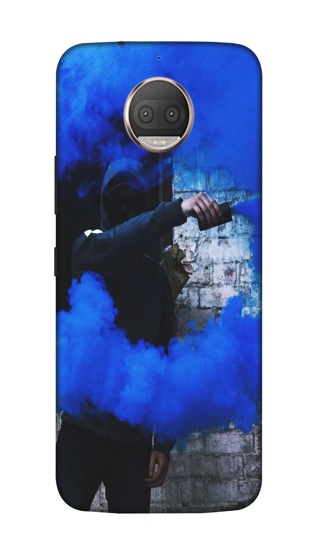 Smoke man Hard Case For Moto G5S Plus