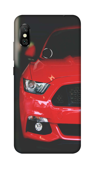 Red car Hard Case For Redmi 6 Pro