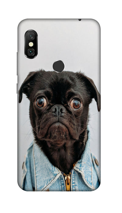 Angry Pug Hard Case For Redmi 6 Pro
