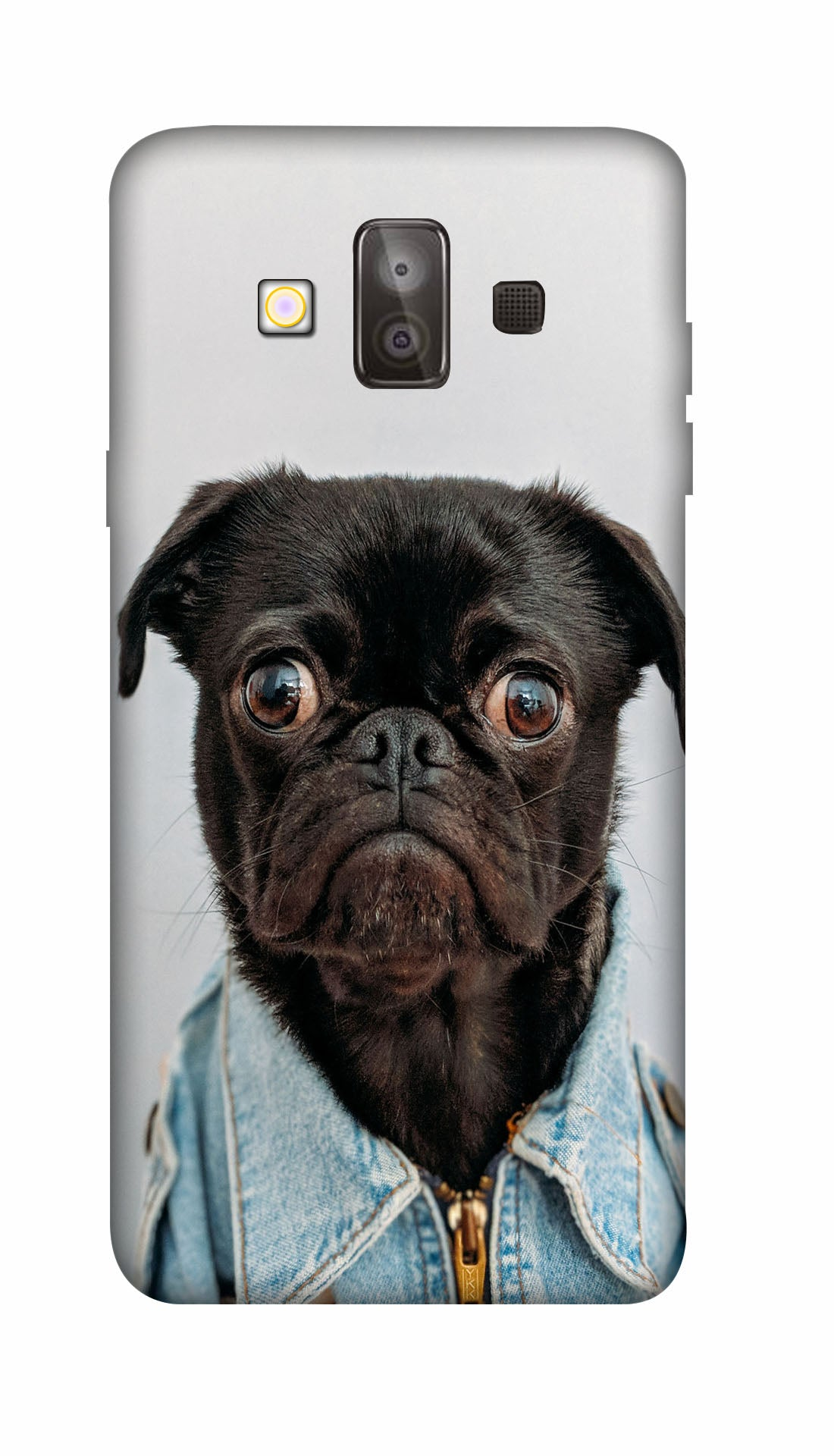 Angry Pug Hard Case For Samsung J7 Duo