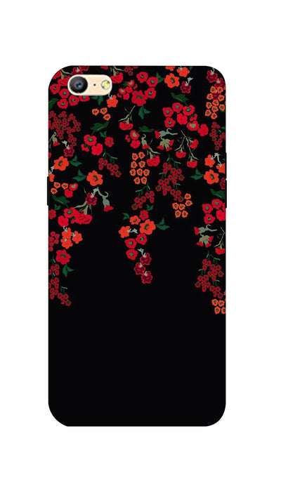 Red little flowers Hard Case For Oppo A57