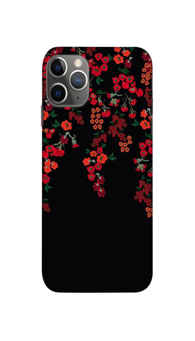 Red little flowers Hard Case For Apple iPhone 11 Pro