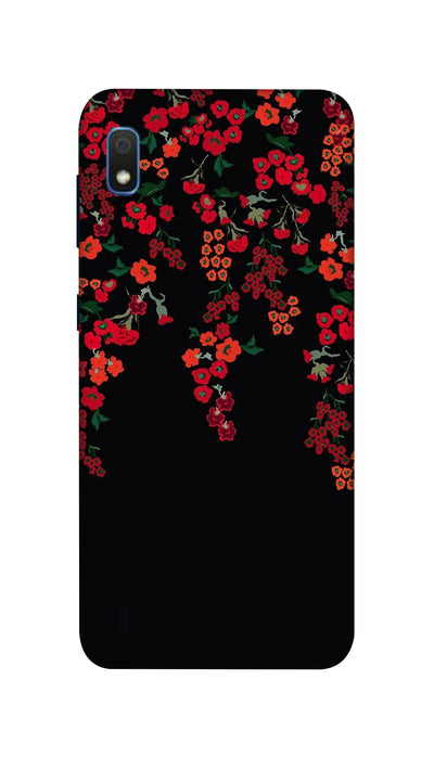 Red little flowers Hard Case For Samsung A10