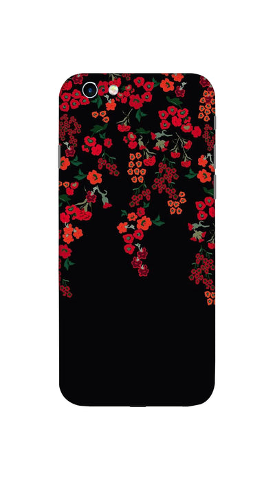Red little flowers Hard Case For Apple iPhone 6S