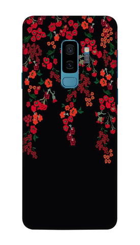 Red little flowers Hard Case For Samsung S9 Plus
