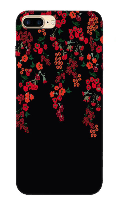 Red little flowers Hard Case For Apple iPhone 7 Plus