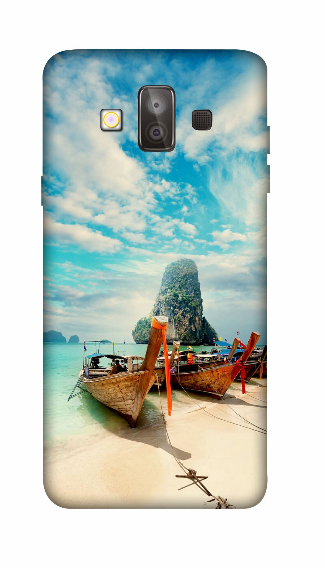 Island scene Hard Case For Samsung J7 Duo
