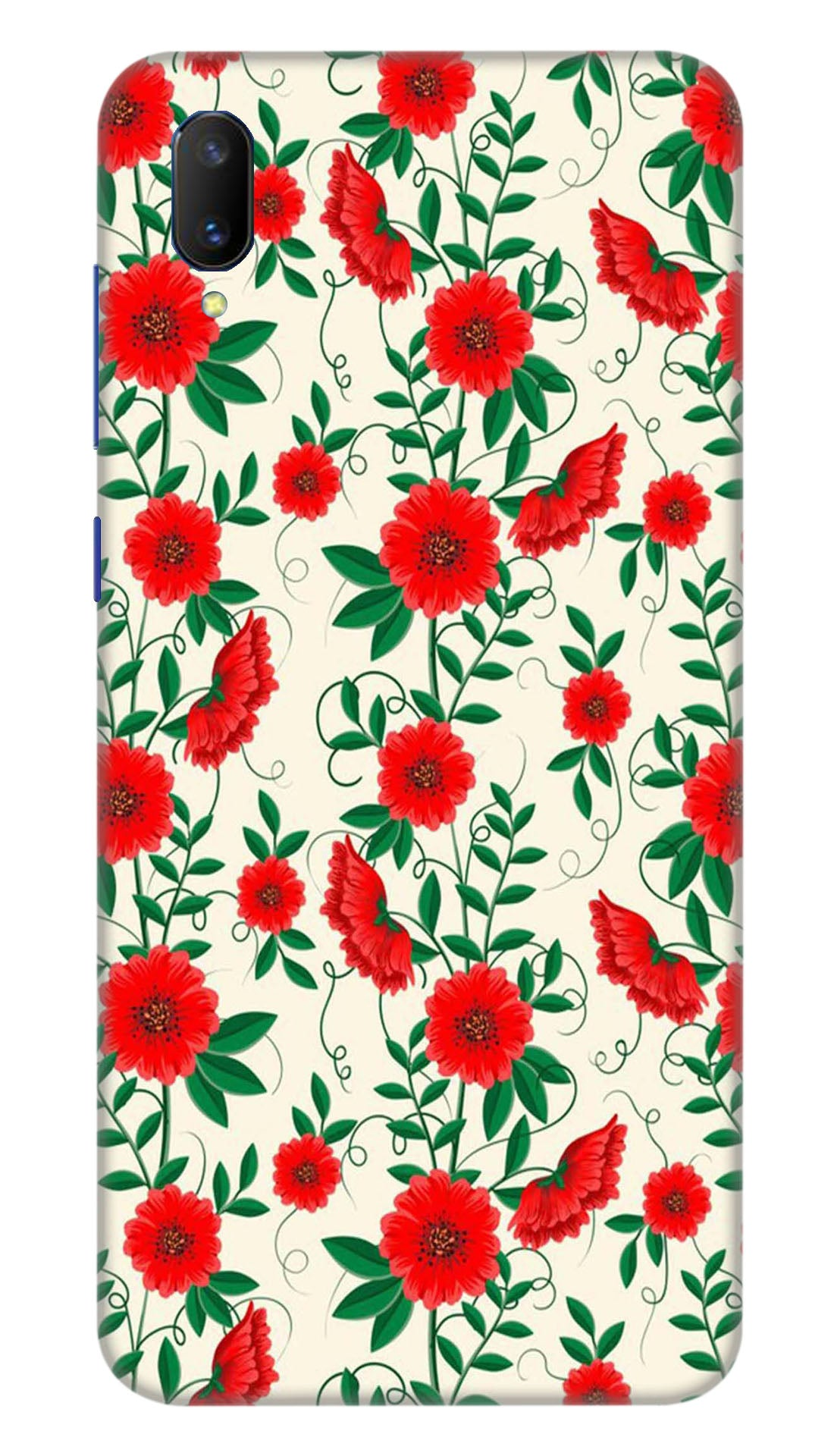 Spring flowers Hard Case For Vivo V11 Pro