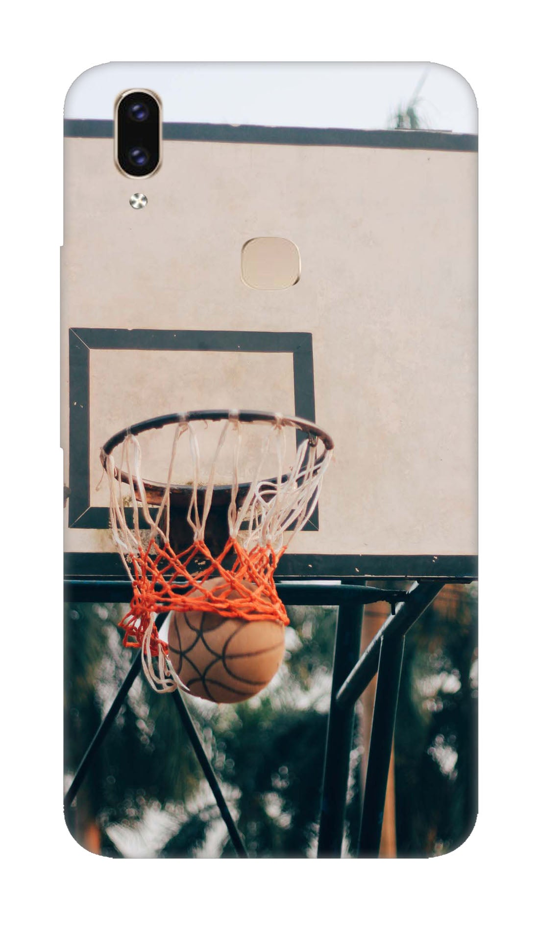 Basket ball Hard Case For Vivo V9 Pro