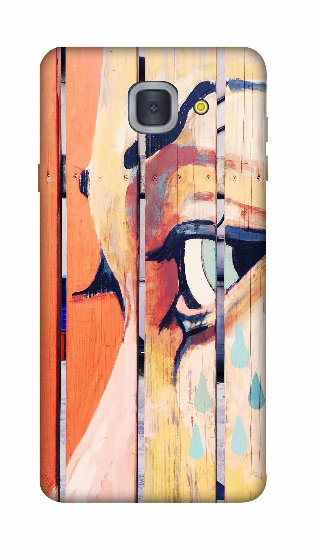 Painted wood Hard Case For Samsung J7 Max