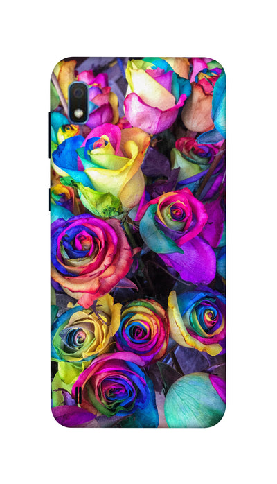 Colourful roses Hard Case For Samsung A10