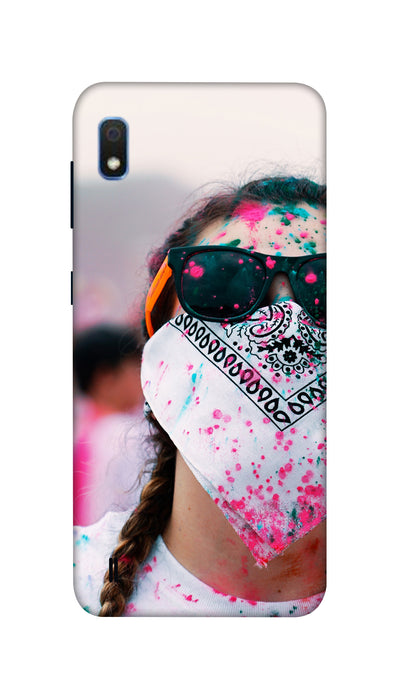 Anti- Holi girl Hard Case For Samsung A10