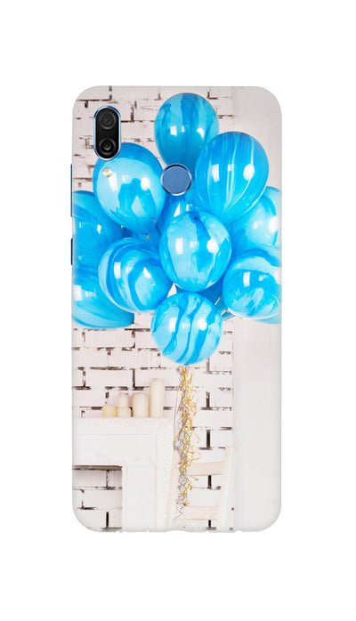 Blue ballons Hard Case For Honor Play