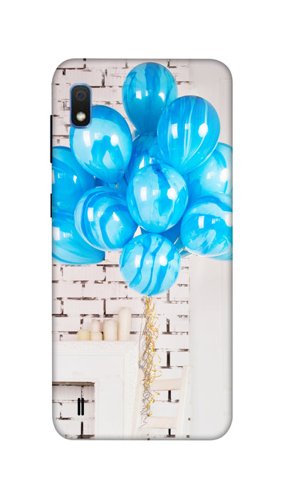 Blue ballons Hard Case For Samsung A10