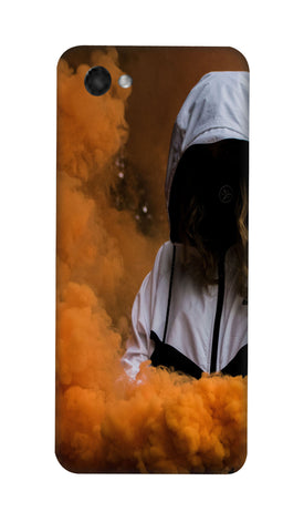 Yellow smoke girl Hard Case For LG Q6