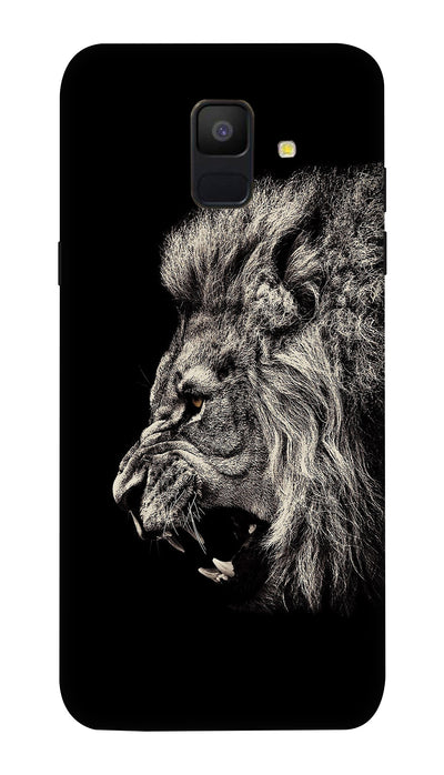 Roaring lion Hard Case For Samsung A6