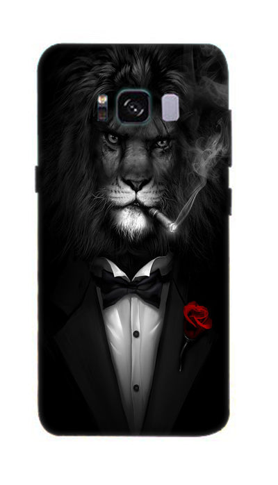 Gentleman lion Hard Case For Samsung S8