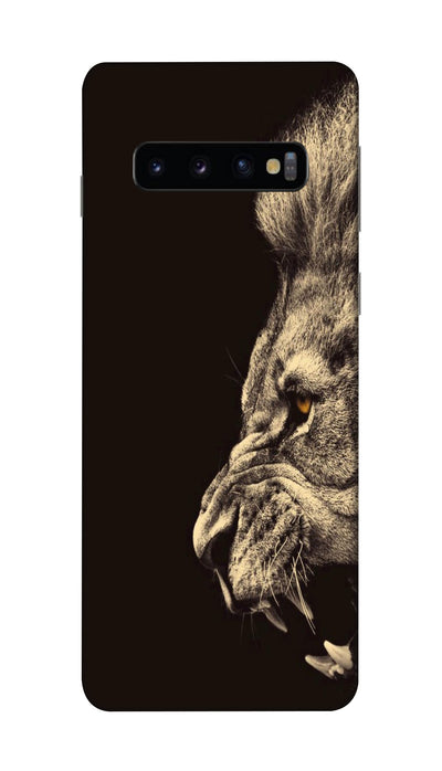 Half lion  Hard Case For Samsung S10