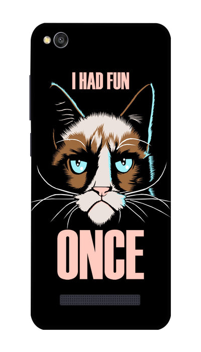 Fun cat Hard Case For Redmi 4A